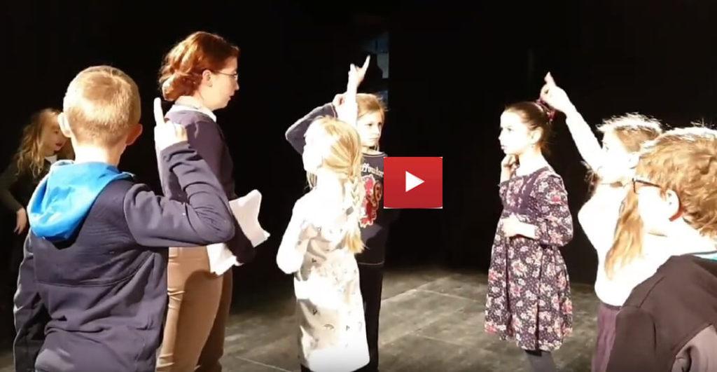 Vidéo groupe théâtrale russophone à Rennes